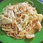 Shrimp and Artichoke Pasta