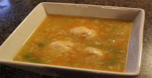 Matzo Ball Soup - The Hungry Wife