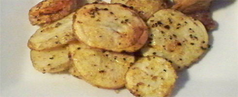 Oven Roasted Turnips