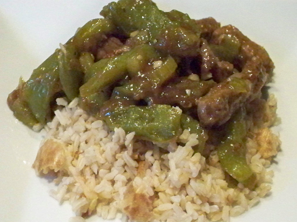 Posts related to Chinese Pepper Steak