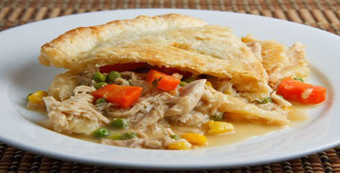Chicken Pot Pie is a wonderful comfort food, perfect for chilly days.  Don't buy the typical frozen pot pies, make your own, you'll be glad you did!