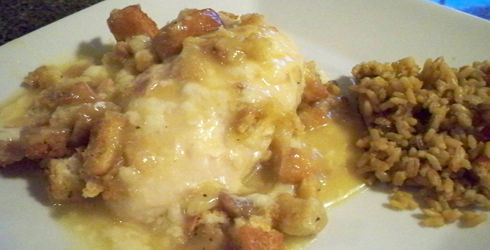 Chicken Swiss Casserole is easy to make and uses only six ingredients, things that many people have around the house.  It is my ultimate poultry casserole recipe.