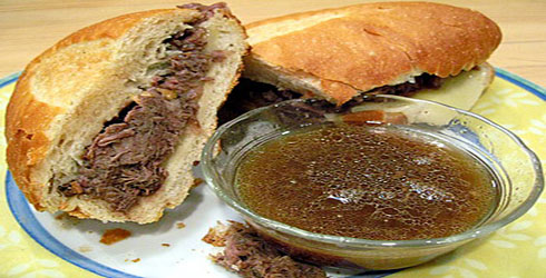 French Dip Sandwiches are a crowd pleaser.  Use your slow cooker to make super tender and flavorful roast beef.