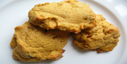 Pumpkin Cookies is a great recipe to start off the holiday baking season.  What you get and moist, chewy cookies with a little bit of spice.