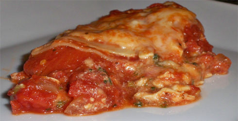 Spinach Lasagna is a healthy, super flavorful pasta dish that the whole family is sure to love.  Easy to freeze for busy nights when cooking is not possible.  This is also a great way to get spinach into your diet.