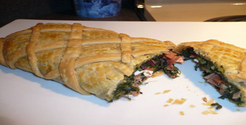 Spinach Turnover Recipe is a flavorful, healthy, filling dish that everyone is sure to love.  If you have some picky eaters, this is a great way to get them to eat their veggies.