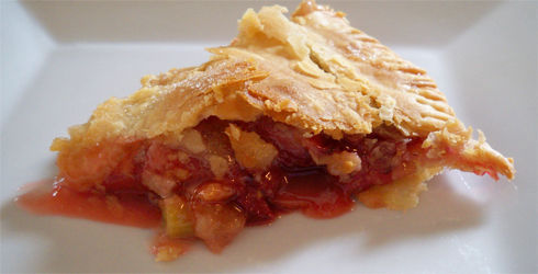 Strawberry Rhubarb Pie is the perfect summertime dessert.  It is refreshing and pairs wonderfully with any dish.  A sweet and tart dessert that will be your new favorite.