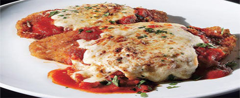 Chicken Parmesan - no good recipe collection is complete without it. A fan asked about a good Chicken Parmesan recipe, and this instantly came to mind.