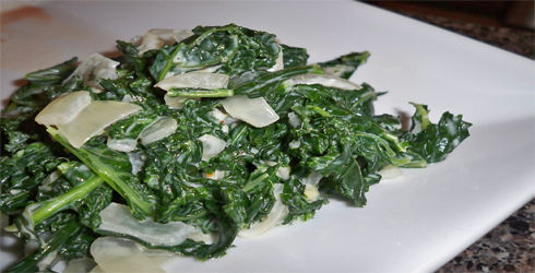 Coconut Cream Kale is an awesome little dish that makes the greens sing.  Slightly creamy, with just the right amount of seasoning.  It will be a hit this holiday season.
