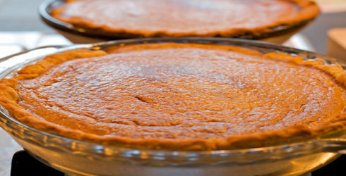 It is officially fall when Pumpkin Pie starts showing up on the dinner table. Pumpkin Mascarpone Pie takes it to a new level, with the Italian cream cheese making the filling nice and airy.