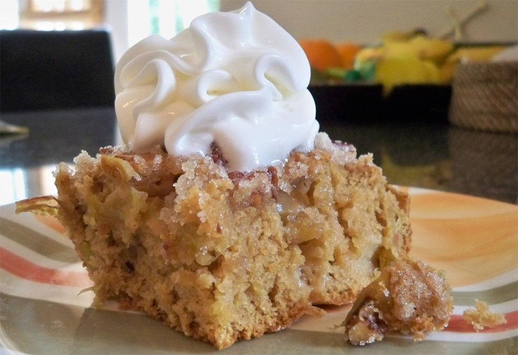 Sour Cream Rhubarb Dessert