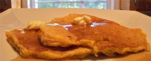 Delightfully delicate these Sweet Potato Pancakes are permeating with the enticing aroma of lemon, these deep golden-brown, thin pancakes are moist inside with crisp edges.